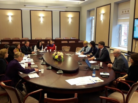 The Macedonian delegation acquainted with the system for training and examination of Lithuanian...