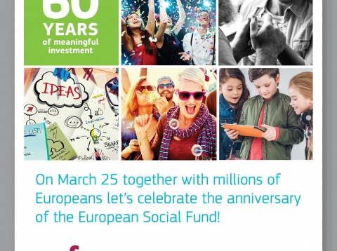 60 YEARS OF THE EUROPEAN SOCIAL FUND