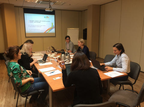 European social fund agency hosted the Romanian delegation under TAIEX-REGIO programme