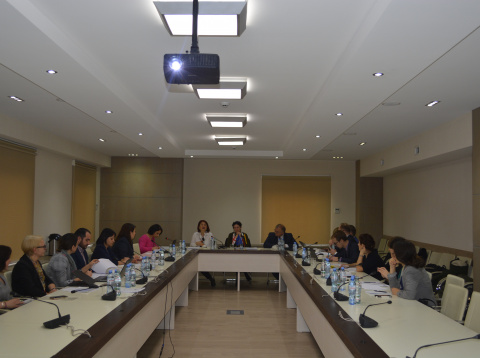 "First Steering Committee of the EU-funded Twinning project ""Capacity Building of Public Service..."