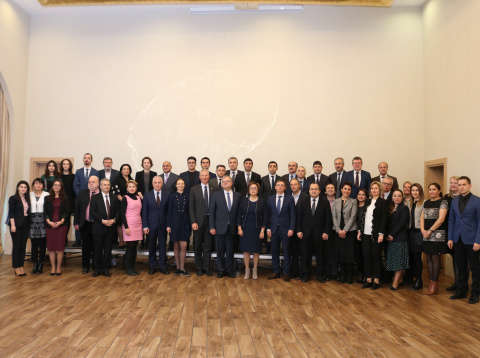Closing ceremony of the Twinning project in Baku